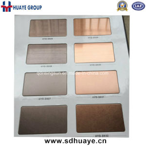 High Quality PVD Colored Stainless Steel Sheet Metal Plate Wall Panel pictures & photos