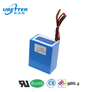 Rechargeable 18650 Lithium Ion Battery 24V10ah pictures & photos