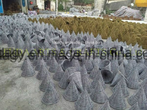 Square Salim Rattan & Grass Leaf Planter pictures & photos
