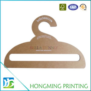 High Quality Brown Cardboard Cloth Hanger pictures & photos
