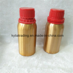 Hot Sale 125ml Gold Essential Oil Aluminum Bottle with Cap Aeob-4 pictures & photos