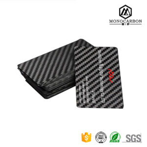 Low Cost Excellent Design Carbon Fiber Card VIP Business Card Printing pictures & photos