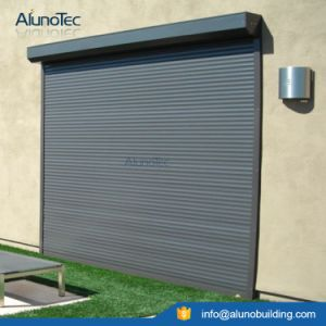Good Quality Aluminium Motorized Vertical Roller Window pictures & photos