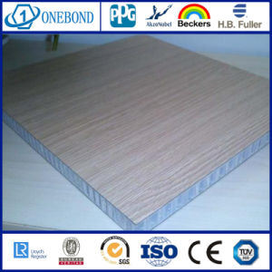 Onebond HPL Aluminum Honeycomb Panels for Toilet Partition pictures & photos