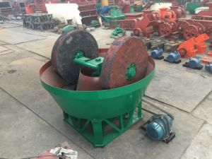 High Quality Wet Pan Mill for Gold Ore Industry pictures & photos