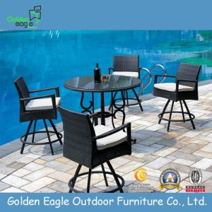 Popular Outdoor Rattan/Wicker Bar Set - Fp0075