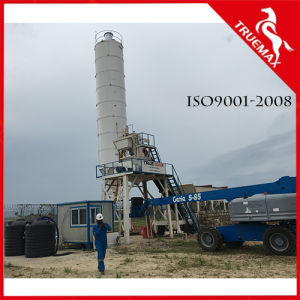 Mini Stationary Ready Mix Construction Concrete Batching Machine for 25m3/H pictures & photos