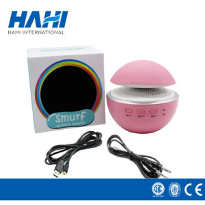 Mini Walkman with Cute Pink Mushroom Design for Speaker pictures & photos