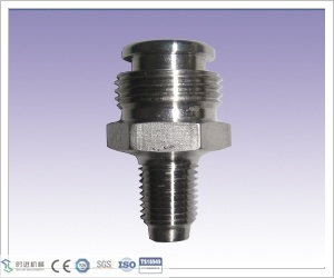 CNC Machining Stainless Steel 1/4 NPT Body Grease Fitting Button Head for Valve Part pictures & photos