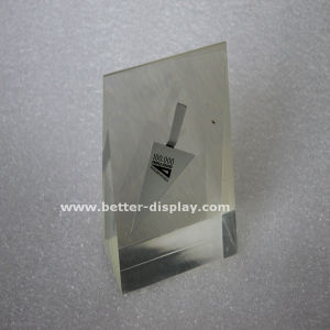 Custom Clear Plexiglass Block with Printed Logo pictures & photos