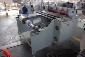 Automatic Fast Speed PVC Roll Cutting Machine pictures & photos