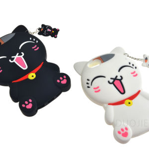 New Style Cartoon Cat Silicone Phone Case for Oppo A33 A37 A59 F1s Mobile Phone Cover (G132) pictures & photos