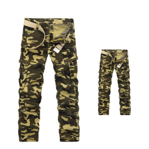 Mens Military Army Trousers Cotton Tactical Cargo Pants pictures & photos