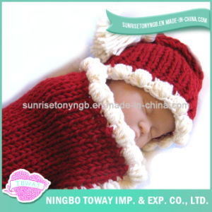 Fashion Soft Wool Baby Hand Made Knitting Sweater pictures & photos