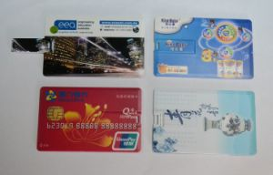 Gift Promotional Credit Card USB Stick 128MB 512MB 1GB 2GB pictures & photos