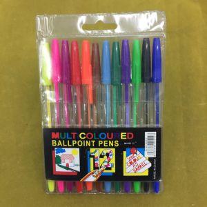 #583 10PCS/PVC Bag Back to School Stick Ball Point Pen pictures & photos
