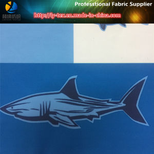 Ocean Fish Printed on The Polyester Peach Skin for Beach Shorts (YH2147) pictures & photos