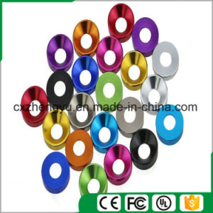 Aluminum Alloy Metal Washer, Screw Bolt Washer, Color Aluminum Countersunk Washer, Countersunk Head Washer pictures & photos
