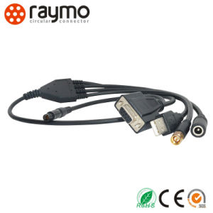 102 Series Straight Plug to USB Connector pictures & photos