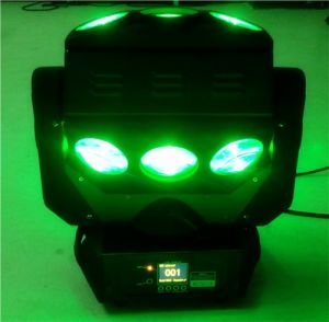9PC 10W LED Magic Pixel Spider Phantom Beam Moving Head pictures & photos