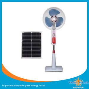 "Unique16"" Rechargeable Solar Box Fan with LED Light From Yingli pictures & photos"