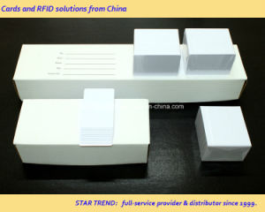 Color Cards /Plain Color PVC Card Suitable for Embossing pictures & photos