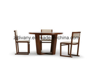 Wooden Furniture Dining Room Round Table (E-20) pictures & photos
