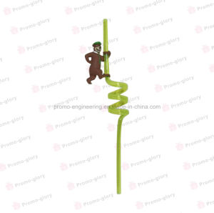 3D Doll Figurine with Spiral Straw pictures & photos