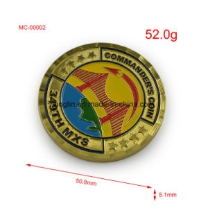 Metal Eagle Military Enamel Color Challenge Coin pictures & photos