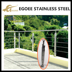 316 304 Stainless Steel Cable Railing, Glass Railing pictures & photos
