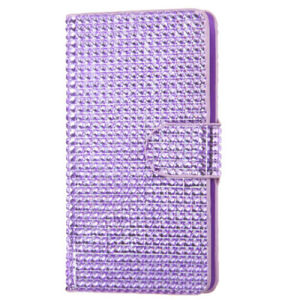 Diamond Flip Cover Cover Wallet Case for LG G3 Purple pictures & photos
