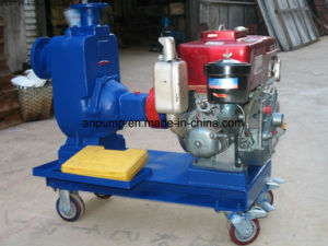 Self Prime Movable Diesel Engine Irrigation Water Pump pictures & photos