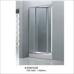 Tempered Glass Folding Door Shower Screen pictures & photos