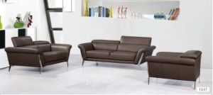 Living Room Sofa Furniture Modern Design Sofa for Leather Sofa pictures & photos