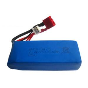 7.4V 2000mAh Lipo Battery for Syma X8c X8w X8g Quadrocopter 7.4 V 2000 mAh Lipo Battery 7.4 25c 903475 T Plug pictures & photos