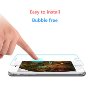 HD Clear 9h 0.33mm Wholesale Glass Screen Protector for iPhone 6 pictures & photos