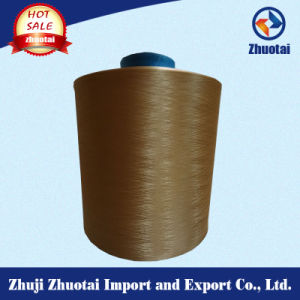 High Elastic Dope Dyed Nylon DTY Yarn 70d/24f/2 for Circular Knitting or Socks pictures & photos