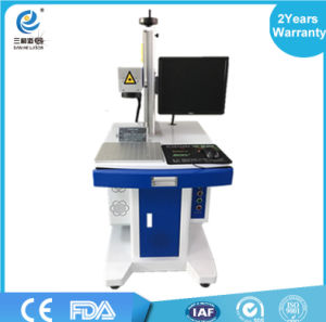 Factory 20W Portable Mini Fiber Laser Marking Machine Price for Sale CNC Machine for Metal Marking pictures & photos