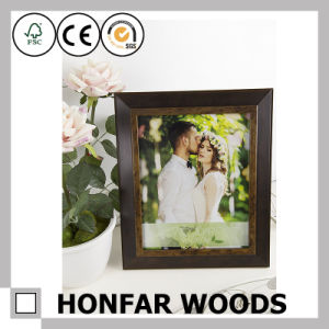 Home Decoration Antique Brown Wood Standing Picture Frame