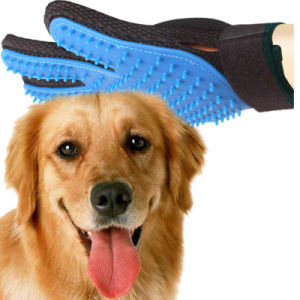 Dirty Pet Fur Clear Water Wash Dog Hair Massage Bathing Brush Comb Glove pictures & photos
