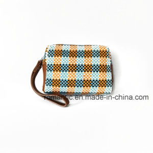 2017 Fancy Style Canvas Lady Handbags Women Woven Clutch Hand Bag (NMDK-032202) pictures & photos