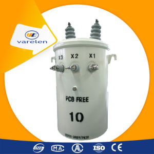 Complete Self-Protected (CSP) Single-Phase Pole Mounted Distribution Transformer pictures & photos
