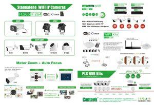 1MP/1.3MP/2.4MP Cvi Dome Mini HD CCTV Camera (KHA-S130RK20D) pictures & photos