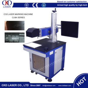 CO2 Laser Marking Machine for Rubber Automatic Jump Number Mark pictures & photos