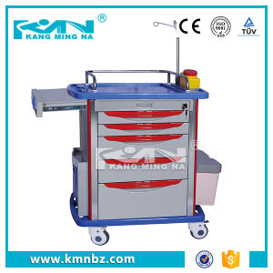 Hospital Emergency Locking Medical Trolley