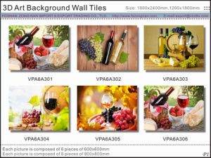 3D Beautiful Art Picture Background Wall Glazed Tiles (VPA6A310) pictures & photos