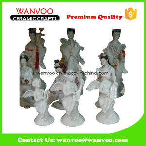 Unique Popular Design Ceramic Fairy and Angel Figurine pictures & photos