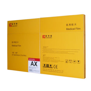 Orthochromatic X Ray Film 11*14 Inch pictures & photos