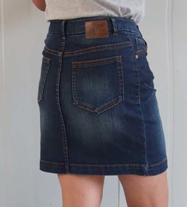 100% Fashioned Ladies Jean Skirt pictures & photos