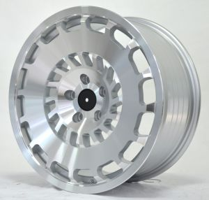 Hot new design alloy wheel with silver machine face pictures & photos